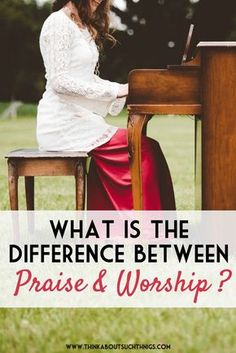 Did you know that there is a big difference between praising God and worshiping God? Take a look at the 7 Hebrew words for praise to find out more!