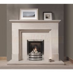 Chatsworth Portuguese Limestone fireplace, A classic design is one of the best fireplaces you can acquire, popular in traditional and modern homes. Bedroom Fireplace, Home Fireplace, Fireplace Surrounds, Fireplace Design, Fireplace Ideas, Fireplace Mantels, Mantle, Front Room Decor, Front Rooms
