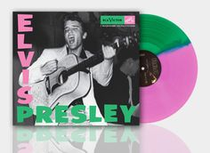 NEW Elvis Presley Pink & Green album vinyl LP Limited Edition of 1000 Newbury  #BluesRock
