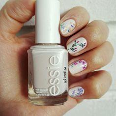 Flores Nails #nails