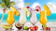 Лучшие прохладительные напитки в жару