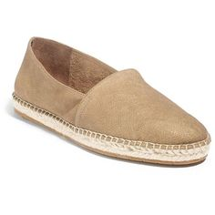 Eileen Fisher Glide Leather & Espadrille Loafers ($89) ❤ liked on Polyvore
