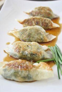 Vegetarian Dumplings - I can't wait to make these!