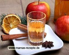 Bratapfel Likör Rezept   Mamas Rezepte - mit Bild und Kalorienangaben