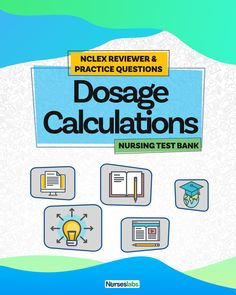 Welcome to your NCLEX reviewer for drug calculations! In this nursing test bank, practice dosage calculation problems to measure your competence in nursing math. As a nurse, you must be able to accurately and precisely calculate medication dosages to provide safe and effective nursing care. The goal of this quiz is to help students and registered nurses alike to grasp and master the concepts of medication calculation. Nursing Exam, Nursing Math, Nursing School Notes, Cardiac Nursing, Nursing Tips, Nursing Students, Nclex Questions, Nclex Practice Questions, 100 Questions