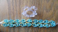 Finger Loom- Shell Chainmail Bracelet (Original Design) tutorial by Claire's Wears.
