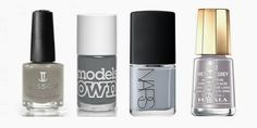 grey nail polish - fall winter 2013/2014 trend