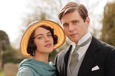 downton-abbey Branson and Sybil