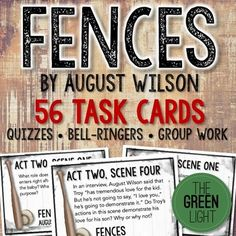 research paper play fences august wilson August wilson biography august wilson any person that essay on august wilsonвђ™s play fences by melanie jung book reports, term papers and research.