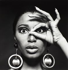 EYE OF THE TIGER | 1967 —- Donyale Luna, the first black model to appear on the cover of Vogue, the March 1966 British issue.
