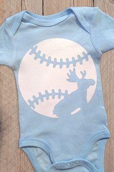 "Moustakas ""Moose"" KC Royals Baseball Baby Onesie"