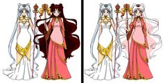 Kinmoku Style by on DeviantArt Sailor Princess, Princess Zelda, Neo Queen Serenity, Creation Art, Bleach Characters, Sailor Moon Character, Doll Divine, Sailor Moon Crystal, Full Moon