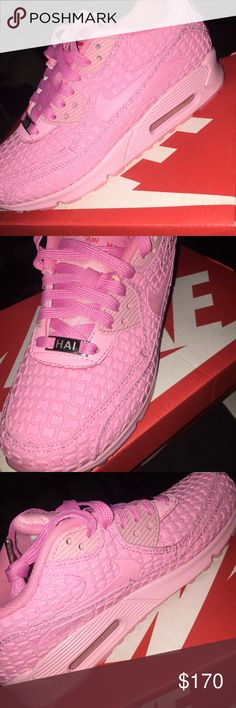 PINK NIKE AIR MAX 90 SHANGHAI New with box. 7 IN WOMENS Nike Shoes Sneakers