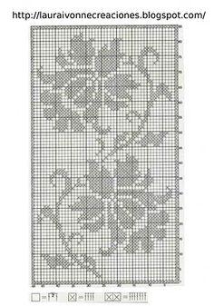 Laura Ivonne Creaciones: Carpeta en filet