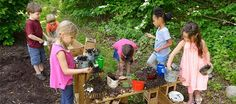 How fun! Making a Mud Kitchen, from our friends at Community Playthings.
