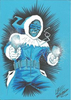 Captain Cold by Lee Bradley