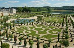 Park at Versailles Palace