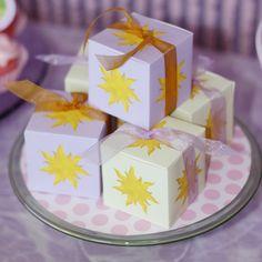 Rapunzel Sun | guest received a sun box filled with princess goodies the sun box ...
