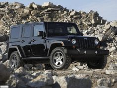 Jeep Wrangler Call of Duty Black Ops