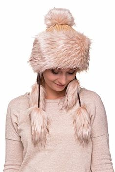 0ca6f434 Caps For Women, Women Hat, Fox Fur, Winter Outfits, Winter Hats, Snow  Fashion, Woman Clothing, Fur, Fashion Trends