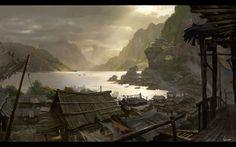Pingmingku2, Dawn Pu on ArtStation at https://www.artstation.com/artwork/g2aWQ