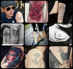 jamie campbell bower tattoo - Google Search