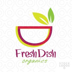 Exclusive Customizable Logo For Sale: Fresh Dish | StockLogos.com