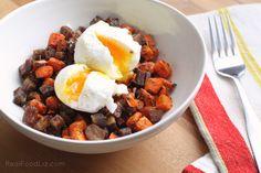 Roasted carrot hash with sage, cinnamon & bacon - Real Food Liz