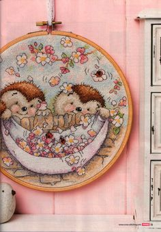 Spring Fever (Country Companions) From Cross Stitch Crazy N°201 April 2015 2 of 4