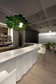 Café ArtScience. Location: Cambridge, Massachusetts; firm: Mathieu Lehanneur