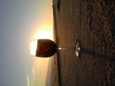 Sundowner, Hentiesbay beach.  Image: Hannelie Rossouw