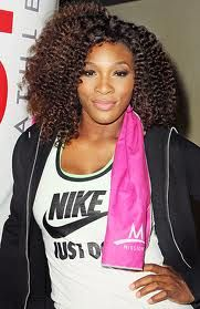Serena Williams - Sit back there and say my hair ain't luxurious, when you know it is, bitch! ~ Katt Williams