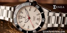 ZENEA Ula Diver 1 Christopher Ward, 316l Stainless Steel