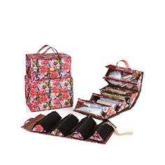 JOY Biggest Better Organize-It-All Beauty Case Set | HSN