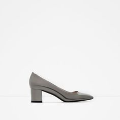 d60f8bbac22 Zara Silver Almond Toe Heels Gorgeous silver heels by Zara in size 8 (Euro  I wore them one time!