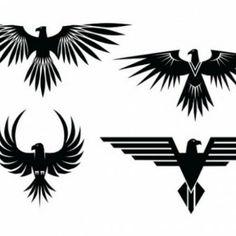 Tatuajes águila con las alas extendidas                                                                                                                                                     Más