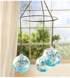 Handblown Glass Ball Mobile