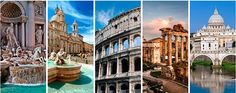 Ganas de viajar: Qué hacer en Roma Eurotrip, Vacation Spots, Rome, Around The Worlds, Tours, Italy, Places, Travel, Blog