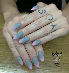 Crey- pink ombre matte nail  #nails💅 #nailart #nailsoftheday #acrylicnails  #grey #pink #ombre #mattenails #beauty #lovenails #nail2inspire #nailprodigy #fotooftheday📷💕 #trustthexperts #beautymakesmehappy   www.kalliopeveniou.gr
