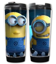 Anime Cartoon Despicable Me Minion Two Layer Heat-resistant Coffee Mug 7.3*5.8*19.2cm. Shopswell | Shopping smarter together.™