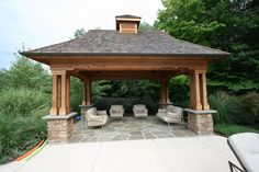 Here is another Cabana / Gazebo idea from Farmside Landscape & Design!