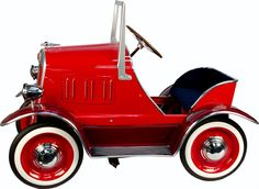 Red 1924 Buick Pedal Car