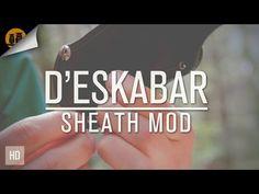 Kabar ESEE Becker BK 24 | D'Eskabar Sheath Mod - YouTube