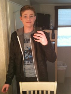 Sean Berdy, gah he's adorable.// I CANT EVEN JUST UGH I CANT