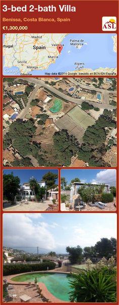 3-bed 2-bath Villa in Benissa, Costa Blanca, Spain ►€1,300,000 #PropertyForSaleInSpain