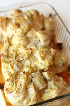 Creamy Artichoke Chicken (Paleo) - LOVE this recipe!