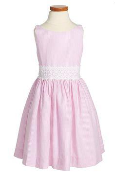 Ralph Lauren Sleeveless Seersucker Dress