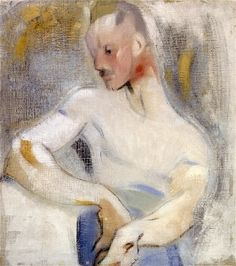 The Sailor (Einar Reuter) - Helene Schjerfbeck - The Athenaeum