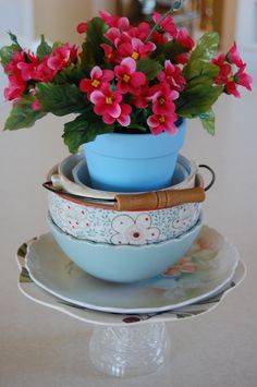 Teacups and posies...