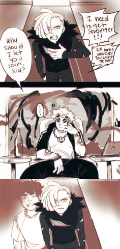 I wonder if Guzma saw himself in Gladion...